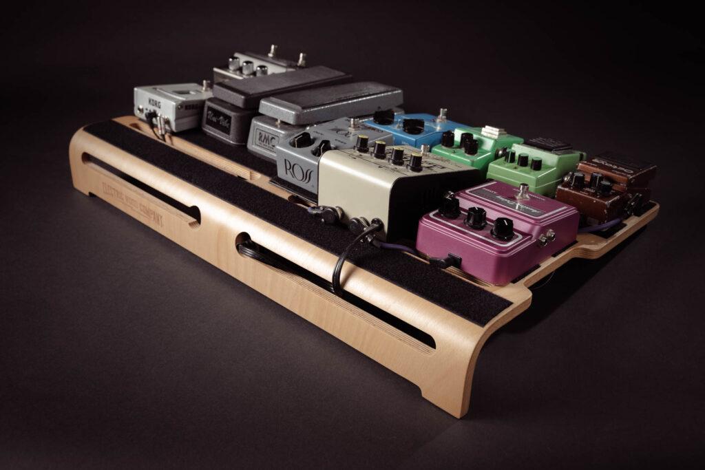pedalboard electric wood company